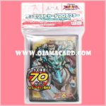 Yu-Gi-Oh! ZEXAL OCG Duelist Card Protector / Sleeve - Artorigus, King of the Noble Knights / Artorius, King of the Holy Knights x70