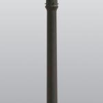 โคมไฟหัวเสาสนามนอกบ้าน SL-11-5002F2-BK