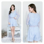 Victoria French lace jumpsuits