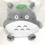 หมอนอิงผ้าห่ม สอดมือได้ ลาย Totoro โทโทโร่ เนื้อผ้าขนหนูนุ่มมากๆ ค่ะ