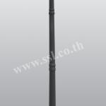 โคมไฟหัวเสาสนามนอกบ้าน SL-11-8053CF-BK-2A-12
