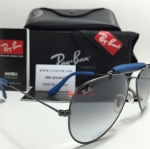 RB 3422Q Aviator Large Metal 004/32 58-14 2N <น้ำเงิน>