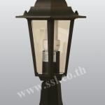 โคมไฟหัวเสาสนามนอกบ้าน SL-11-5009S-BK