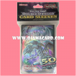 Yu-Gi-Oh! TCG Double Dragon Card Sleeve : Azure-Eyes Silver Dragon & Blue-Eyes White Dragon 50ct.