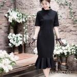 Ariel Black Dress