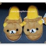 รองเท้าใส่ในบ้าน ลาย Rilakkuma ริลัคคุมะ หมีน้ำตาล ลิขสิทธิ์แท้