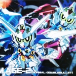 SD Gundam AGE-2 [Normal, Double Bullet]