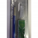 MANWAH MW-2165B Pen Knife [Blue]