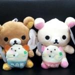 ตุ๊กตาน้องหมี Rilakkuma และ Korilakkuma มาใหม่ค่ะ (ราคาต่อคู่ค่ะ)