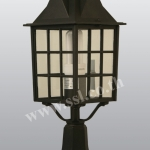 โคมไฟหัวเสาสนามนอกบ้าน SL-11-5021S-BK
