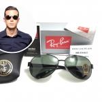 แว่นกันแดด RayBan RB 3386 002 63-13 2N <ดำ>