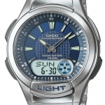 นาฬิกาข้อมือ คาสิโอ Casio Standard 10 Year Battery Analog รุ่น AQ-180WD-2AVDF