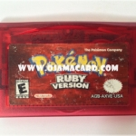 Nintendo Game Boy Advance : Pokémon Ruby Version US (Used)