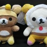 ตุ๊กตาน้องหมี Rilakkuma และ Korilakkuma ชุดผึ้ง (ราคาต่อคู่ค่ะ)