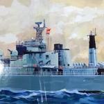 เรือรบ 1/200 Chinese Navy Destroyer QingDao [WSN]