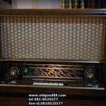 วิทยุหลอดsiemens super g41 ปี1954 รหัส24560sm2