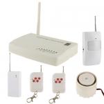 สัญญาณกันขโมยบ้าน Intelligent GSM Alarm Frequency: 433MHZ GSM 850/900/1800/1900 MHZ