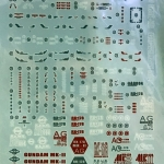 de cals RG RX-178 Gundam MK-II AUGE 456