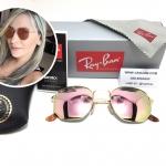 แว่นกันแดด RB 3548N Hexagonal Flat Lenses 001/Z2 51-21 145 3N