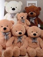 ตุ๊กตาหมีตัวใหญ่ขนาด 120 cm สีชมพู สีขาว สีน้ำตาลอ่อน สีน้ำตาลเข้ม