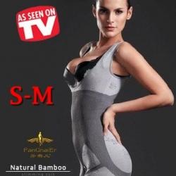 S-M ชุดกระชับสัดส่วน Bamboo Slimming Suits อกชิด เอวคอด เซ็กซี่ทันที