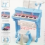 เปียโนของเด็กเล่น+โน๊ตเพลง มี 2 สี สีฟ้า&สีชมพู thumbnail 2