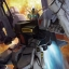 1/144 HG RX-93 Nu Gundoom / Gundam thumbnail 1