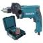 """สว่านกระแทก 16 mm 5/8"""" มาพร้อมกระเป๋าและอุปกรณ์เสริม รุ่น HP1630KSP ยี่ห้อ Makita (JP) Hammer Drill thumbnail 3"""