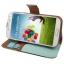 Case เคส แบบซองหนัง Samsung Galaxy S 4 IV (i9500) thumbnail 2