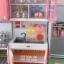 ชุดห้องครัวของเล่นเด็ก มีไมโครเวฟ มีตู้เย็น Modern Kitchen thumbnail 4