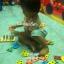 แป้นไม้เรขาคณิตสวมหลัก 5 รูปทรงของเล่นไม้ thumbnail 2