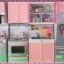 ชุดห้องครัวของเล่นเด็ก มีไมโครเวฟ มีตู้เย็น Modern Kitchen thumbnail 1