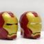 Iron Man 3D Helmet plastic cup (Black Eye) thumbnail 5
