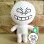 ตุ๊กตาline cony หน้ายิ้ม ขนาด 45 cm. thumbnail 3