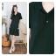 Polo dress สีดำ thumbnail 1
