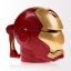 Iron Man 3D Helmet plastic cup (Black Eye) thumbnail 2
