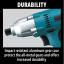 """ไขควงกระแทกไฟฟ้า 6.35mm (1/4"""") รุ่น 6952 ยี่ห้อ Makita (JP) Impact Driver w/ 1/4"""" Hex Drive thumbnail 7"""