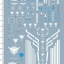 decals MG seven sword G stickers 5925 thumbnail 1