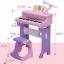 เปียโนของเด็กเล่น+โน๊ตเพลง มี 2 สี สีฟ้า&สีชมพู thumbnail 6