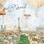กระดาษแนปกิ้น เดคูพาจ 211354 Paris thumbnail 1