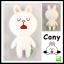 ตุ๊กตา Line cony ขนาด 30 cm. thumbnail 1