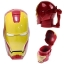 Iron Man 3D Helmet plastic cup (White Eye) thumbnail 2