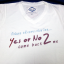 เสื้อยืด Yes Or No 2 สีขาวไซส์ M thumbnail 1
