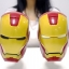 Iron Man 3D Helmet plastic cup (White Eye) thumbnail 7