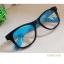 แว่นตาแฟชั่น เกาหลี EWK006 กรอบดำ ขาสีฟ้า thumbnail 1