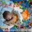 เพลยิมผ้าเปียโนของเด็กเล่น เปียโนมีสีชมพู กับ สีฟ้า ส่งฟรี thumbnail 6