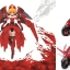 Pretty Armor Ver. 3 Red Ver (Armor Exchangeable to bike) thumbnail 1