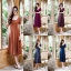 Daisy dress สีพื้น มี5 สี Size L thumbnail 1