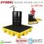 แผ่นรองรับ ถังสารเคมี ขนาด 4 ถัง รุ่น SPP104 (Spill Pallet | Poly Spill Pallet 4 Drum ) thumbnail 1