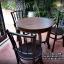 ชุดโต๊ะ+เก้าอี้เชคโก3ตัว รหัส6560ck thumbnail 1